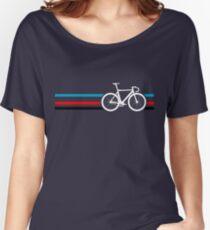 Bike Stripes Velodrome Women's Relaxed Fit T-Shirt