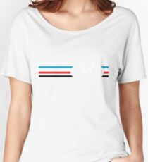 Bike Stripes Velodrome Women's Relaxed Fit T-Shirt