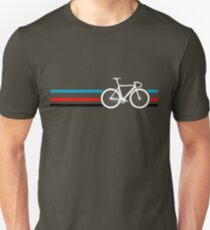 Bike Stripes Velodrome Slim Fit T-Shirt