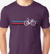 Bike Stripes Velodrome Unisex T-Shirt