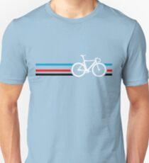 Bike Stripes Velodrome Unisex T-Shirt
