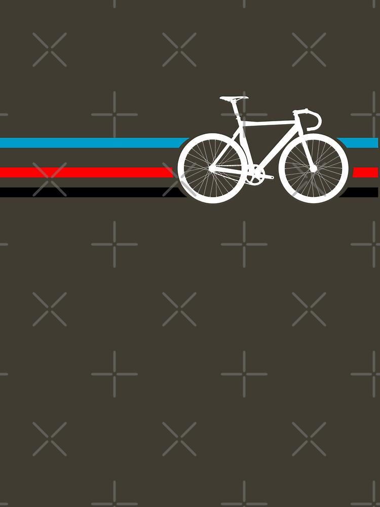 Bike Stripes Velodrome | Unisex T-Shirt