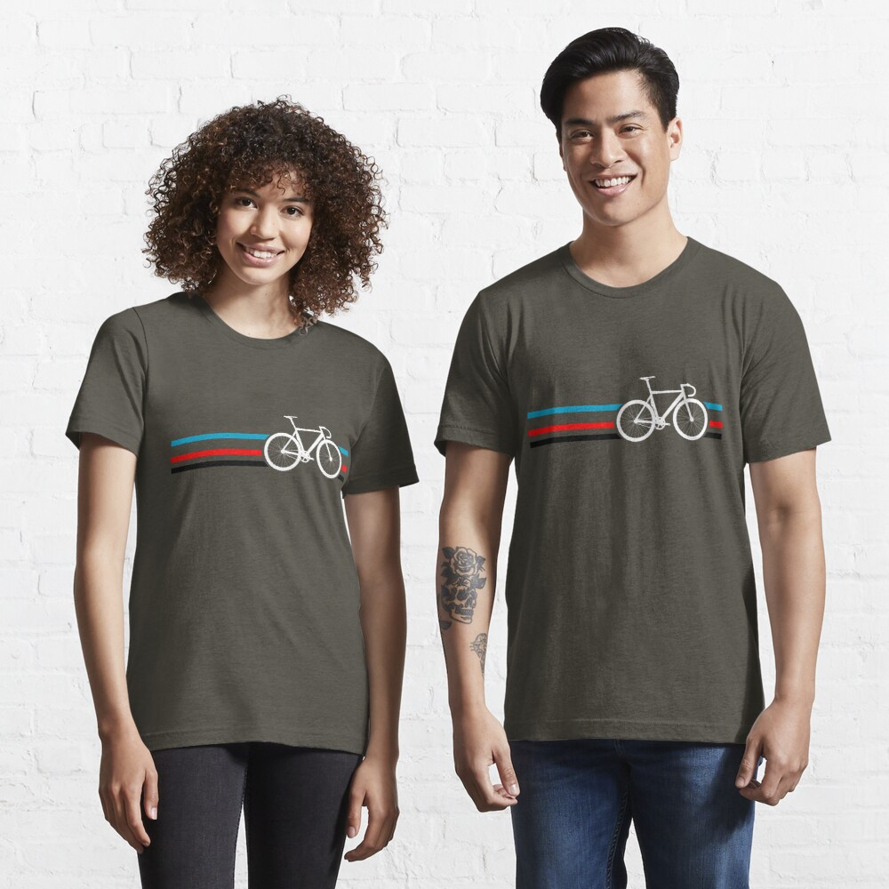 Bike Stripes Velodrome Essential T-Shirt