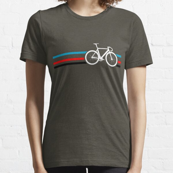 Bike Stripes Velodrome Essential T-Shirt