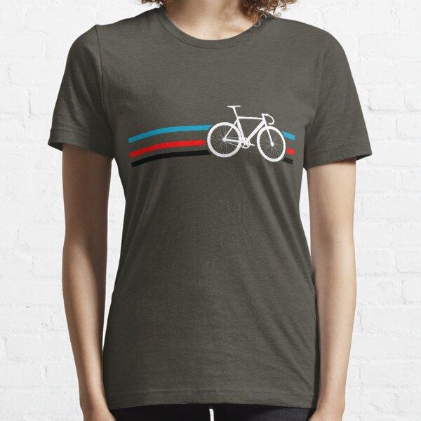 Fahrradstreifen Velodrom Essential T-Shirt