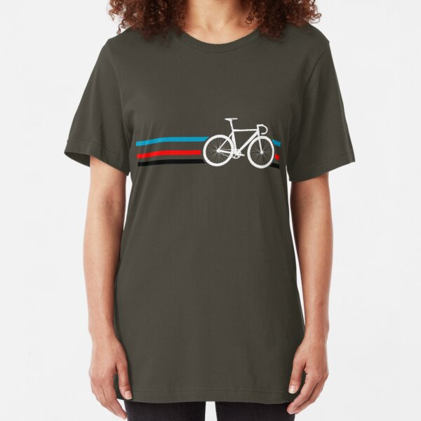 Bike Stripes Velodrome Slim Fit T-Shirt