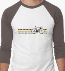 Bike Stripes Yellow/Black - Chain T-Shirt