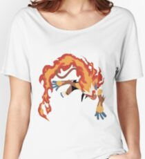 Infernape Women's Relaxed Fit T-Shirt