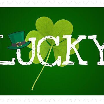 Happy Saint Patricks Day lucky by Mallorys