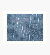 Laminated tie dye Art Print