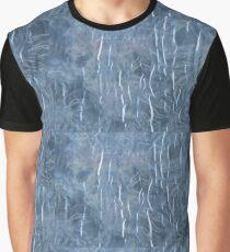 Laminated tie dye Graphic T-Shirt