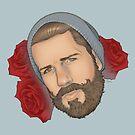 Men on Roses 3 - Eli by Curtis J