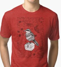 Taiwan Scimitar Babbler Tri-blend T-Shirt