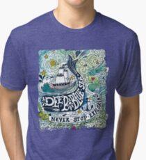 Deep blue sea.. Tri-blend T-Shirt