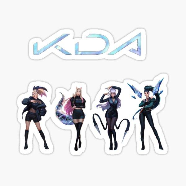 Kda Sticker