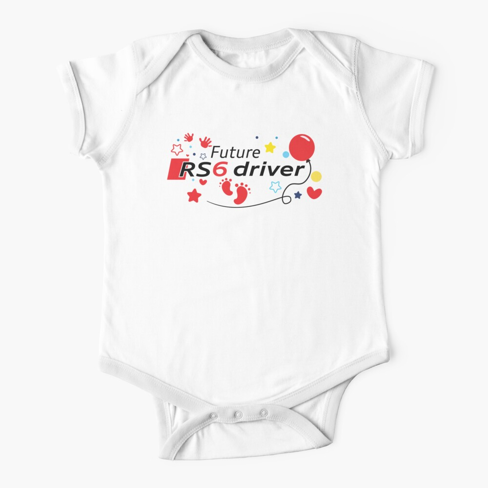 Future RS6 driver Baby One-Piece