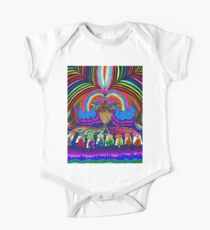 Psychedelic Abduction  One Piece - Short Sleeve