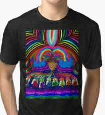 Psychedelic Abduction  Tri-blend T-Shirt