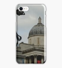 The National Gallery With Horse Skeleton iPhone Case/Skin