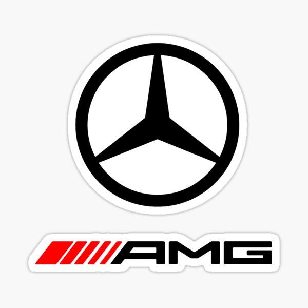 LOGO AMG DE VOITURE-BENZ Sticker
