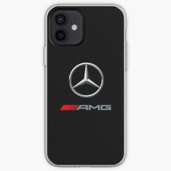 LOGO AMG DE VOITURE-BENZ Coque souple iPhone