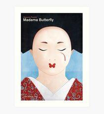Madama Butterfly - Giacomo Puccini Art Print