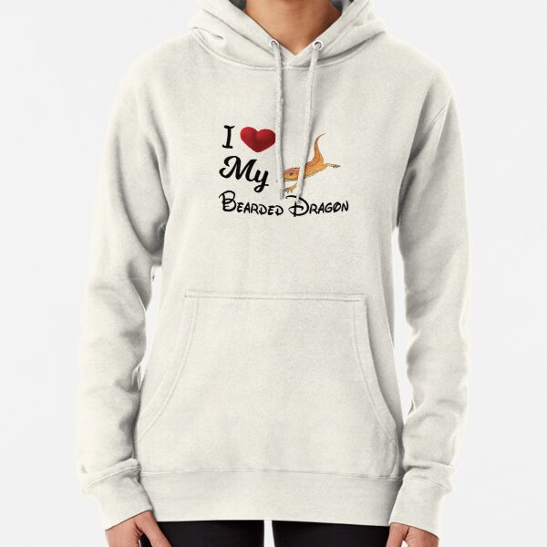 I Love My Bearded Dragon Funny Bearded Dragon T-shirt Gift Pullover Hoodie