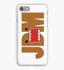 Domo Monster in JDM letters iPhone Case/Skin