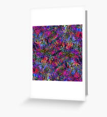 Fractal Insanity Greeting Card