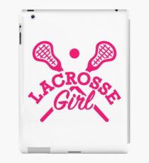 Lacrosse girl iPad Case/Skin