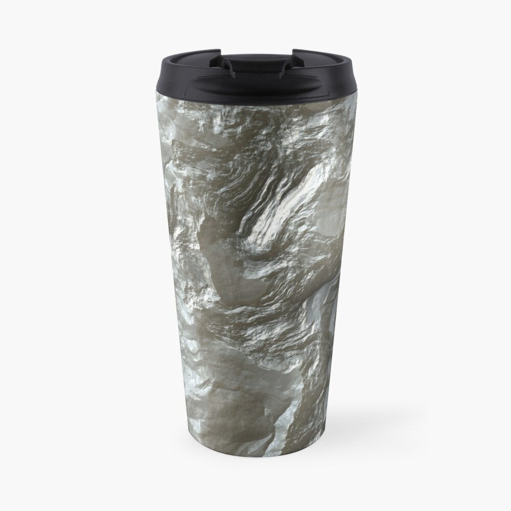 Decorative stone on Travel Mug Designed by Marcu Ioachim