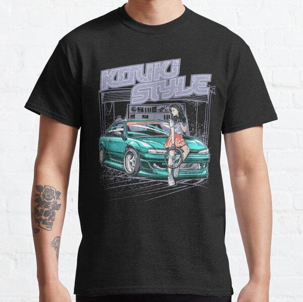 Nissan Silvia S14 Kouki Style, Japanese Race car, JDM Tee, sr20, Car Fan, Car Guy Gift Idea, Car Enthusiasts, Car Lover Poster, Gift For Mechanic Classic T-Shirt