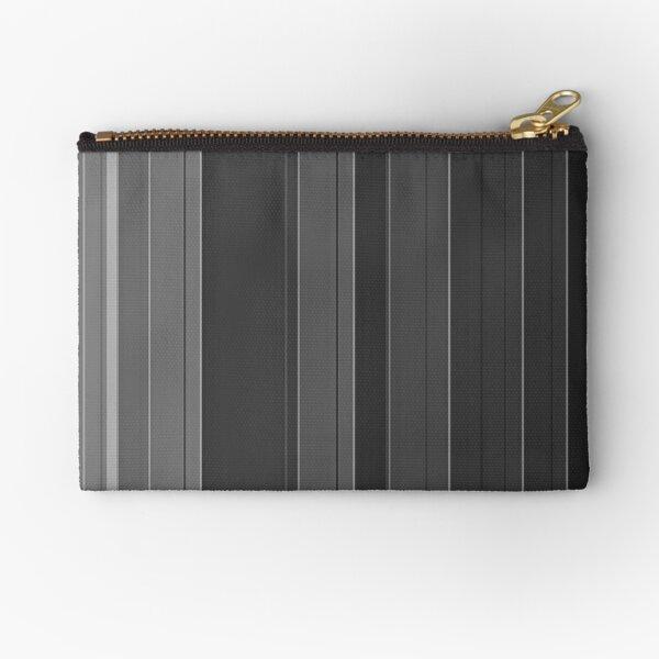 Soft elegance gray Zipper Pouch