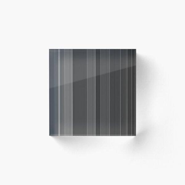 Soft elegance gray Acrylic Block