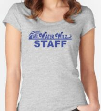 Water Wizz - STAFF Fitted Scoop T-Shirt