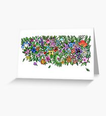 Annalisa Flowers Greeting Card