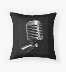 Outspoken  Throw Pillow