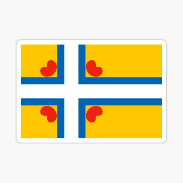 Greater Frisia Sticker