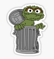 Oscar The Grouch Sticker