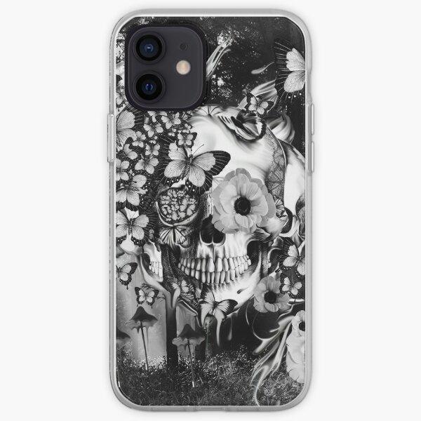 REM, illusions skull iPhone Soft Case