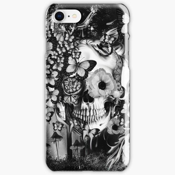 REM, illusions skull iPhone Snap Case