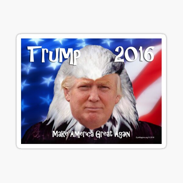 Trump Eagle Sticker
