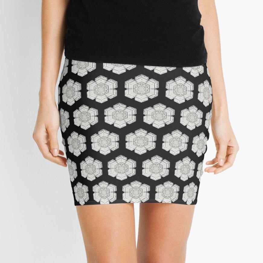 Detailed photo of snowflake Mini Skirt