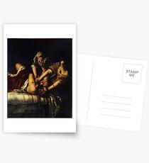 Postales Judith Slaying Holofernes por Artemisia Gentileschi