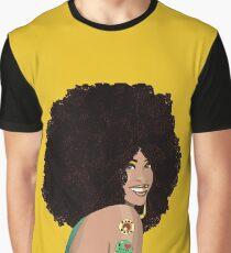 Erykah Badu Vector Graphic T-Shirt
