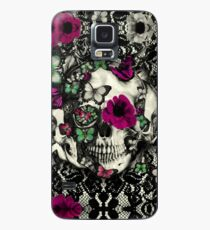 Victorian Gothic Lace skull Case/Skin for Samsung Galaxy