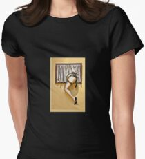 Window girl Womens Fitted T-Shirt
