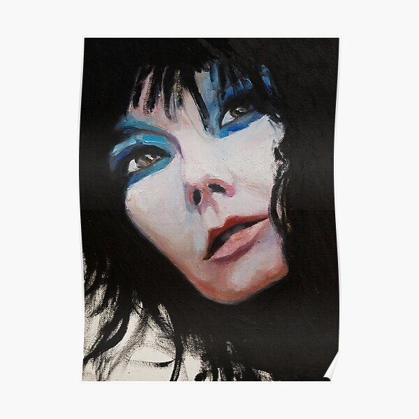 A Treasure - Björk Portrait Poster