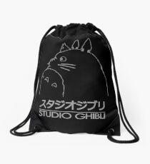 Studio ghibli totoro Drawstring Bag