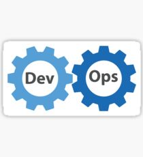 DevOps logo Sticker